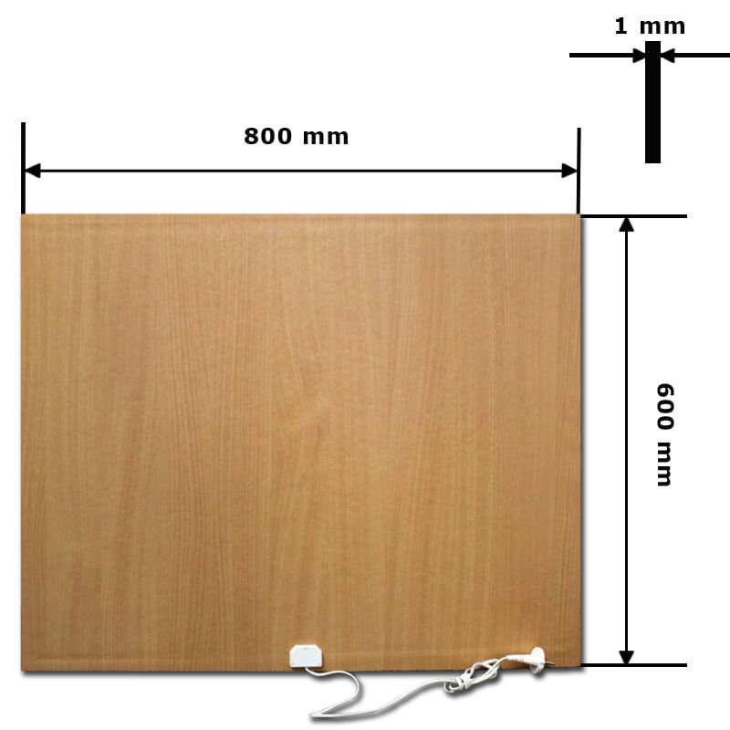 INFRARED HEATER  80x60cm - INF...