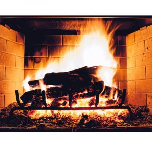 INFRARED HEATER-PICTURE - FIREPLACE...