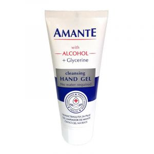 ALCOHOL CLEANSING GEL FOR HANDS WITH ANT...