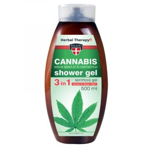 CANNABIS ROSMARINUS SPRCHOVÝ GEL, 500ML...